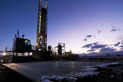 Encana-Rig&Pipe The Piceance basin in northwest Colorado